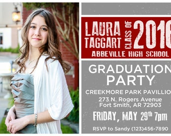 Graduation Invitation Printable