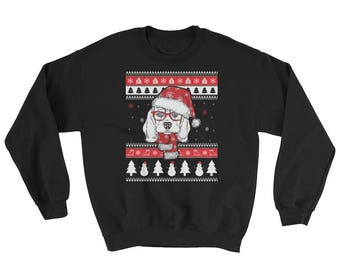 Funny Beagle Ugly Christmas Sweater Cute Dog Lover Gift