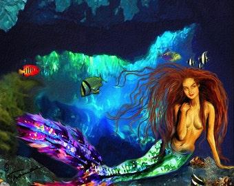 Serena (Mermaid Card Line)