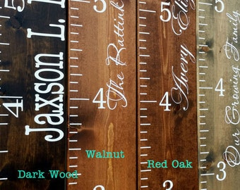Wooden height chart, growth chart, kids height chart,  family height chart,  wooden growth chart children height chart children