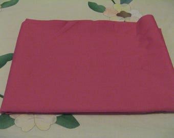 Vintage Remnant Pink Fabric 150cms x 114cms Cotton?