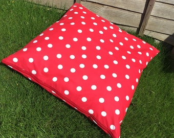 Outdoor Polka Dot Pillow Large