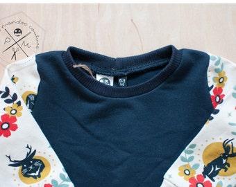 NEW -  Crew neck sweatshirt -Baby sweater- Baby Outfit