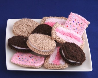 Cookies or Biscuits - INSTANT DOWNLOAD PDF Knitting Pattern
