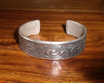 silver bracelet celtic design in sterling silver 925