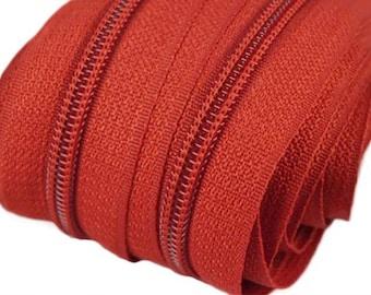 6 m endless zipper 5 mm with 15 zippers and ending pieces 287 Bossa nova