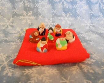 Nativity Set - Micro Miniatures - Vintage