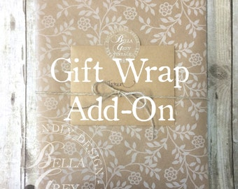 Gift Wrap Add-On - Gift Wrapping Service