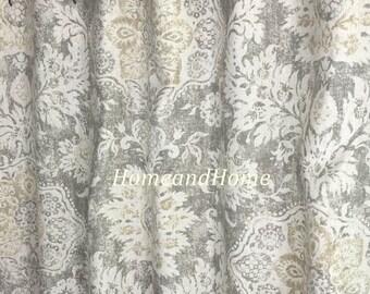 Shower Curtain Belmont Mist Beige Grey Cream 72 X84 108 Custom Shower  Curtain Fabric Shower Curtain