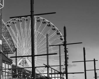 Ferris Wheel Photography Fine Art Print