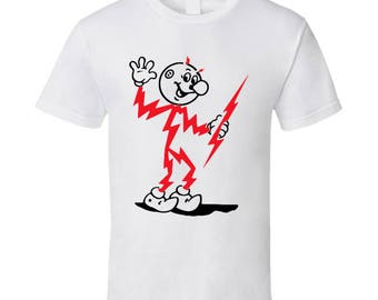 Reddy Kilowat Energy Mascot White T Shirt