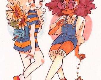 Flower n' Flo (small print)