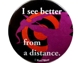 Hawkeye Avengers 2-Inch Button: I See Better from a Distance