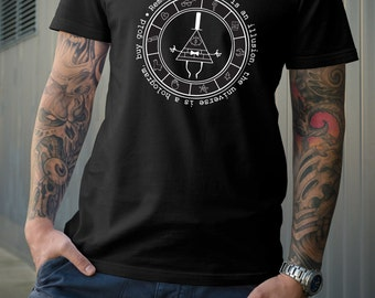 Bill Cipher Gravity Falls Tshirt