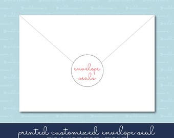 Printed Envelope Seals
