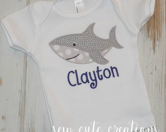 Shark Shirt, Shark Birthday Shirt, Girl Shark Shirt, Boy Shark Shirt, Boy shirt, Girl shirt, Under the sea, sew cute creations