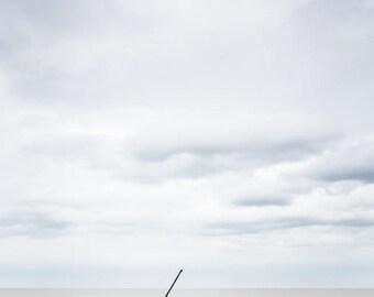 English Beach Photography - Brave Little Ship Fine Art Photograph -  Summer Art