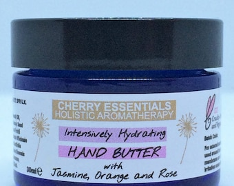Intensively Hydrating Hand Butter with Jasmine, Rose and Orange 30ml