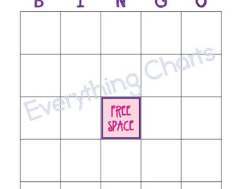 Valentine Bingo Game - PDF Files/Printables