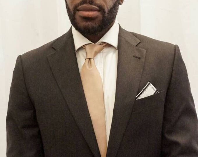 Mens Silk African Adinkra Necktie