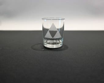 Glass shot The Legend Of Zelda - Triforce