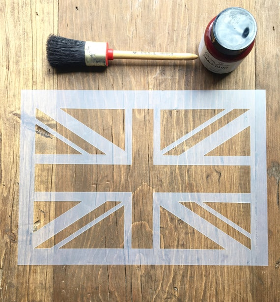 british flag furniture. Union Jack Stencil, British Flag UK Furniture Wall Craft Stencil R