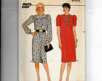 Butterick Misses' Dress  Pattern 6618