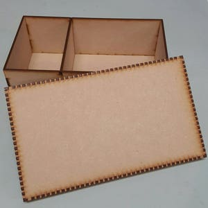 Craft - Box with lid & partition