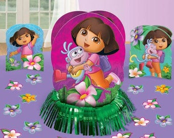 Girls ''Flower Adventure'' Table Decorating Kit 23ct