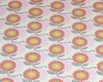 """LAMINATED Cotton  - Pink American Cell Structure, 56"""" Wide, BPA & PVC Free"""