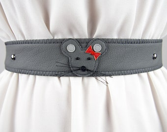 Female Mouse Belt ~ Handmade ~ Only 1 Left!