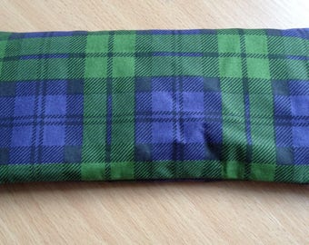 Handcrafted Tartan Print Lavender Eye Pillow