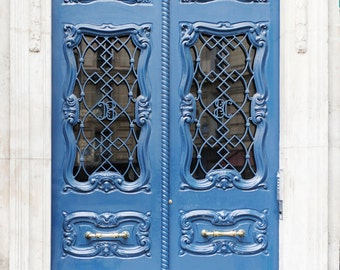 Paris Door Photograph - Art Nouveau Door in the Latin Quarter, French Travel Photography, Home Decor, Large Wall Art