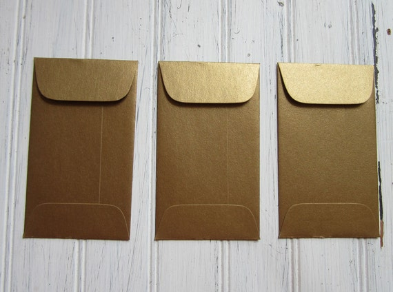 100 gold envelopes metallic antique gold coin envelope gift reheart Images