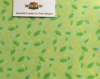 Leaf Pattern #5377 Fabric, Andover Fabrics Leaf Fabric, Nancy Murty Leaf Fabric, Leaf Print Quilting Cotton