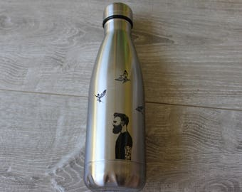 Stainless Steel Water Bottle, 17oz