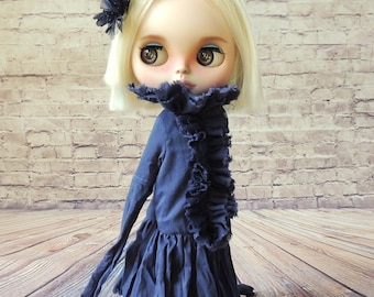 Dress for Blythe doll, hand made.
