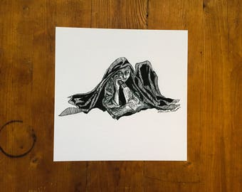 "Fine Art Print | ""Quiet"" 