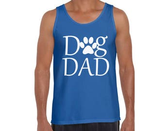 Dog Dad Tank Tops Tank Top Fathers Day Gift Pet Lover Dog Lover Gift For Him Best Dog Dad Ever