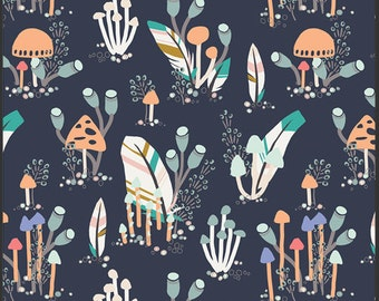 Forest Trail Mountain for Indian Summer by Sarah Watson for Art Gallery Fabrics REMNANTS