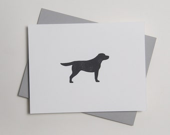 Kenzie - Labrador Retriever - Letterpress Dog Card