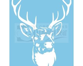 Stencil - Deer - ST-066