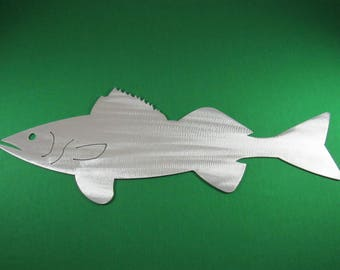 Metal Art Fish Replica & Silhouettes - Walleye Replica Fish