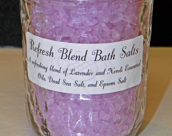 Custom Dead Sea Bath Salts - 8 oz.