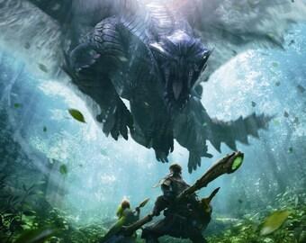 Monster Hunter 4 Ultimate Gore Magala Poster