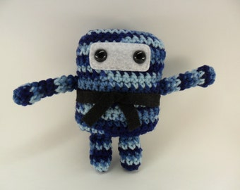 Mini Ninja Plush - Shaded Dusk / Blue / Denim / Navy / Light Baby Blue