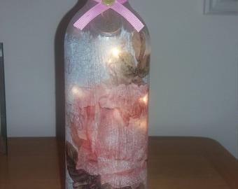 Glass Light Bottle