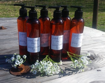 Liquid Hand Soap / Orange Essential Oil Soap / Soap Gift / Gift For Mom / Teacher Gift / Thank you Gift / Birthday Gift