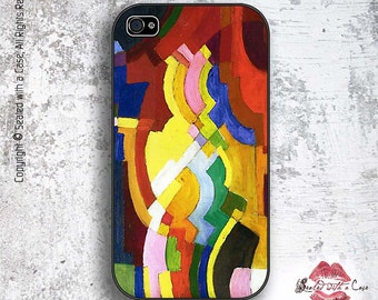 August Macke Abstract Cubist Painting - iPhone 4/4S 5/5S/5C/6/6+ and now iPhone 7 cases!! And Samsung Galaxy S3/S4/S5/S6/S7