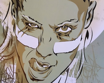 Yolandi Visser Die Antwoord Digital Art Print